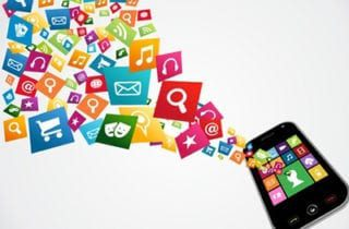 Phone Apps Graphic