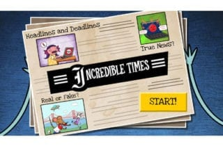 The Incredible Times: A News & Media Literacy Game from Common Sense Education