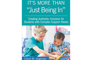 Inclusion is More Than Just Being In