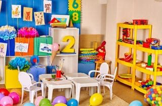 Classroom design for young children