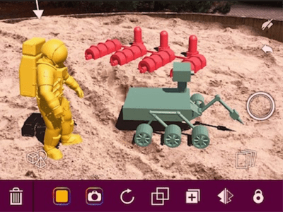 Creating Classroom Content in Augmented Reality