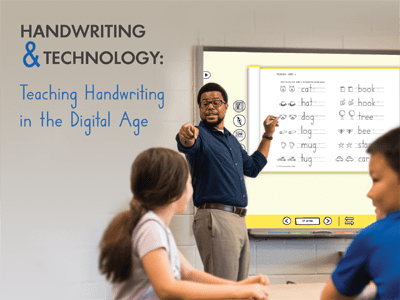 Teaching Handwriting in the Digital Age