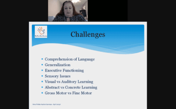 Challenges of students with ASD