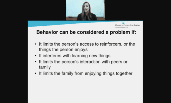 Challenging Behaviors of Students with Autism edWebinar recording link