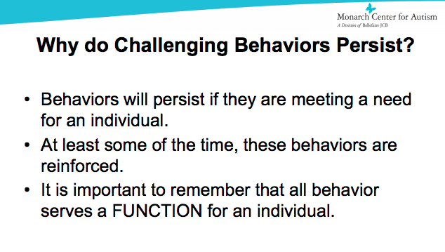 Challenging Behaviors of Students with Autism edWebinar image