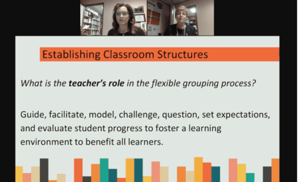 Flexible Grouping and Collaborative Learning edWebinar recording link
