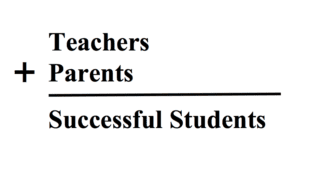 teachers and parents equals successful students